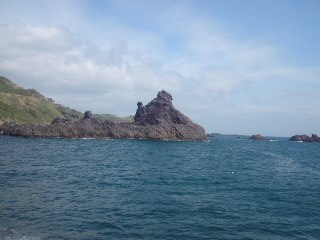 龍ヶ島…大迫力