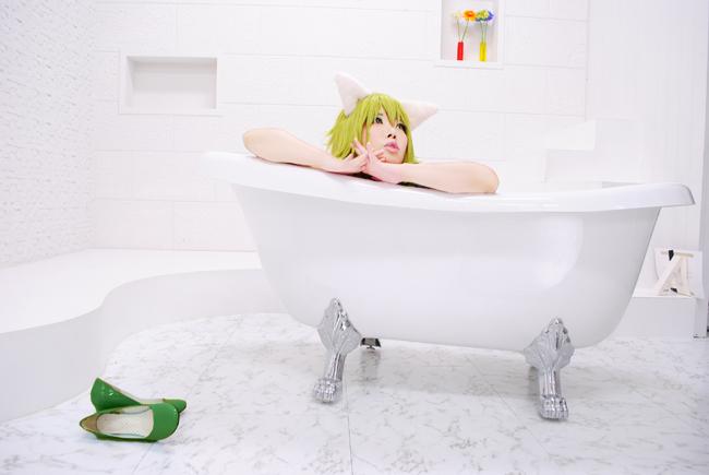 ぐみお風呂