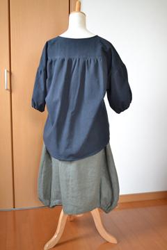 18ドロップシャツとバルーンスカート2