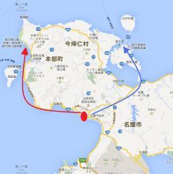 名護市地図2