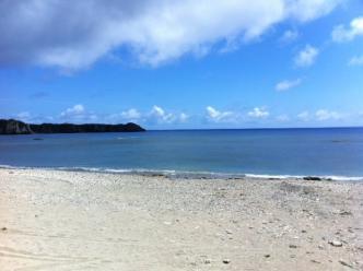 天然ビーチ