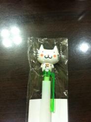 ふくにゃんボールペン2
