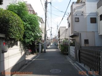 昭和町3丁目前面道路