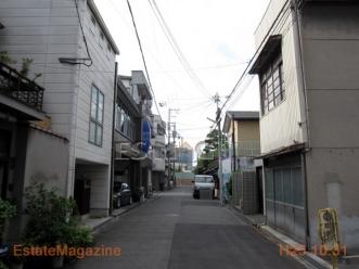 阪南5前面道路