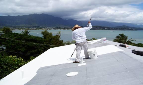ハワイ・カネオハ湾ドライブレジデンス屋根