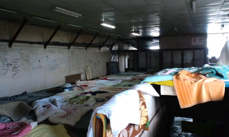 ライダーハウス大掃除2