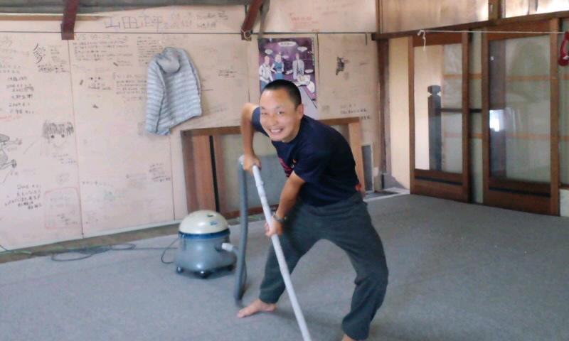 ライダーハウス大掃除8