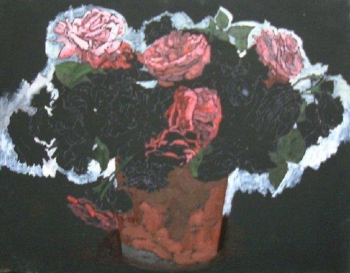 大赤バラ1
