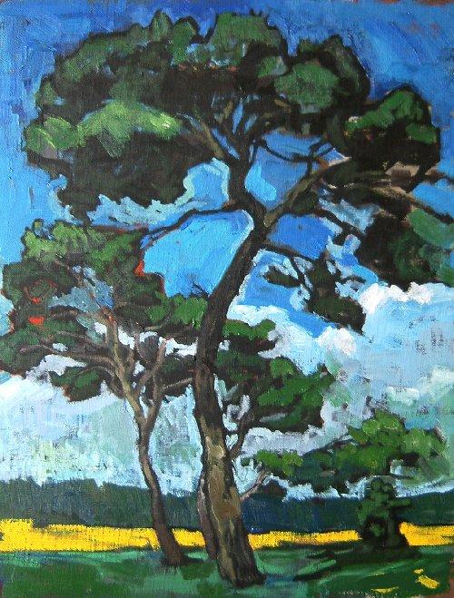 セザンヌの木