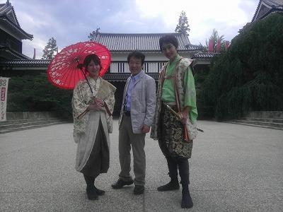 長野県上田城で