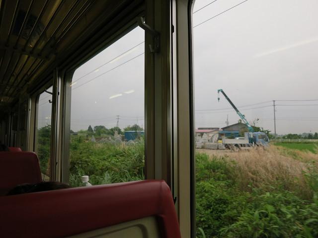 福島の車窓から