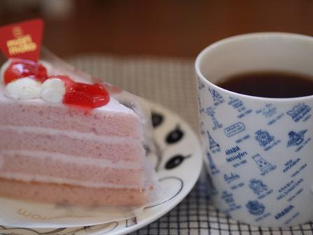 イチゴのケーキ♪