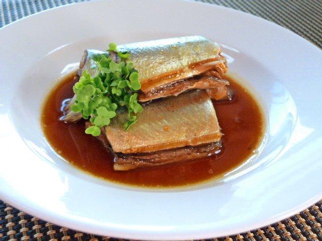 秋刀魚のジンジャーコーディアル煮♪3