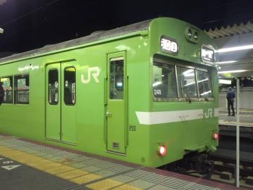 奈良の103系
