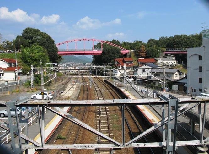 八本松駅 山陽本線 - 観光列車か...