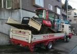 トラクター移動