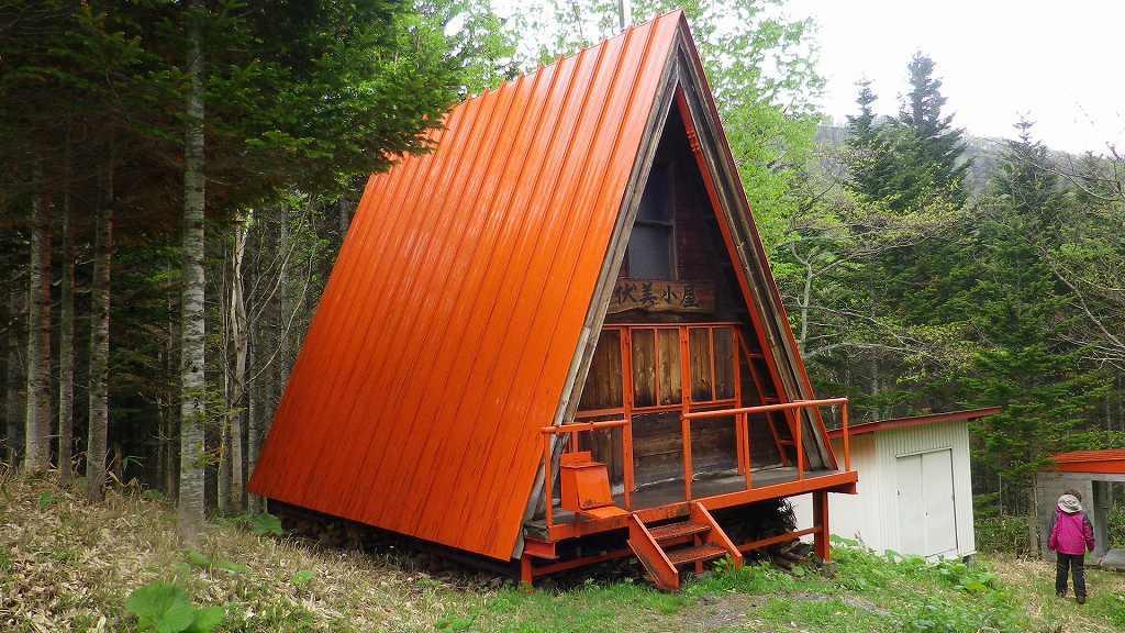 伏美岳避難小屋