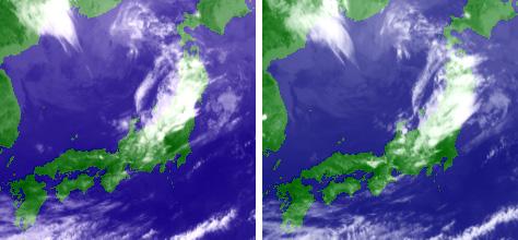 5月28日の衛星画像