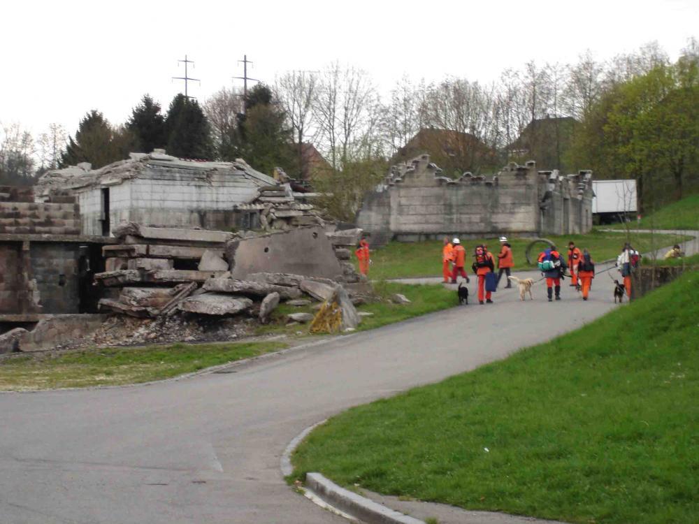 スイス・ベルン郊外の訓練施設(5)