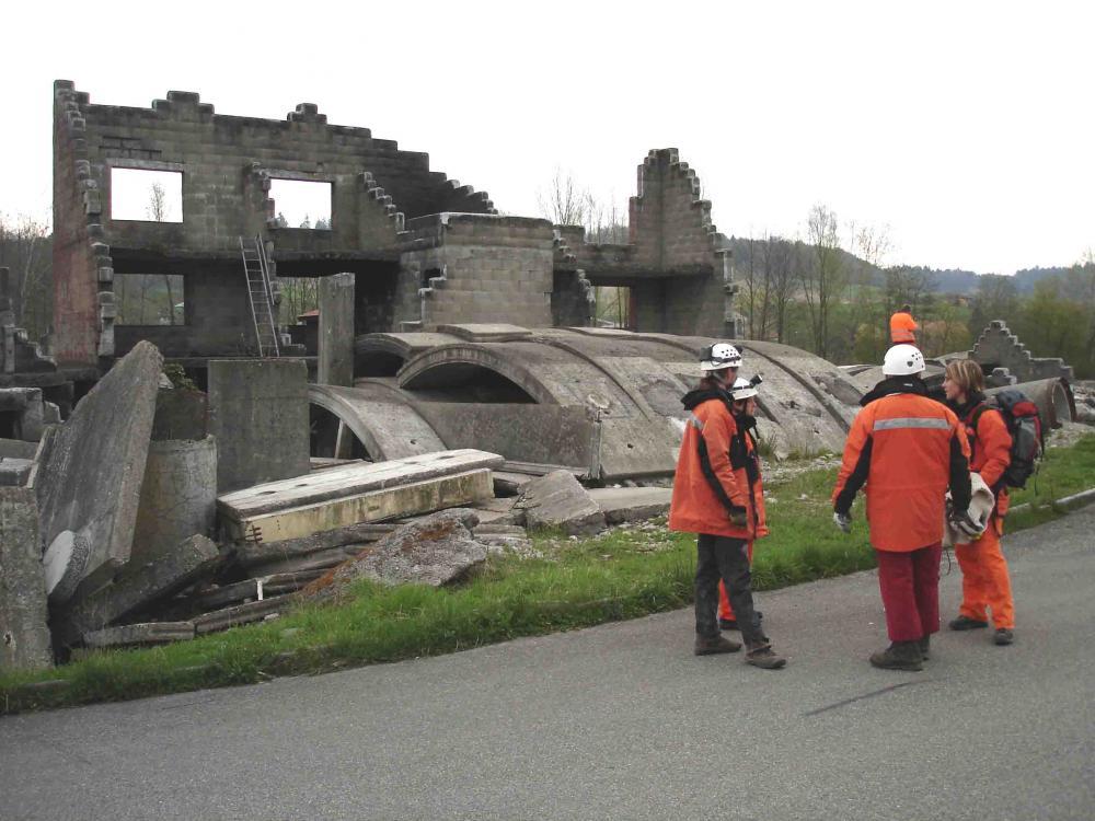 スイス・ベルン郊外の訓練施設(7)