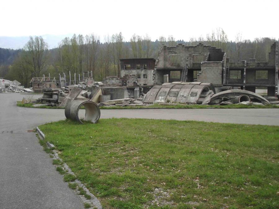 スイス・ベルン郊外の訓練施設(8)