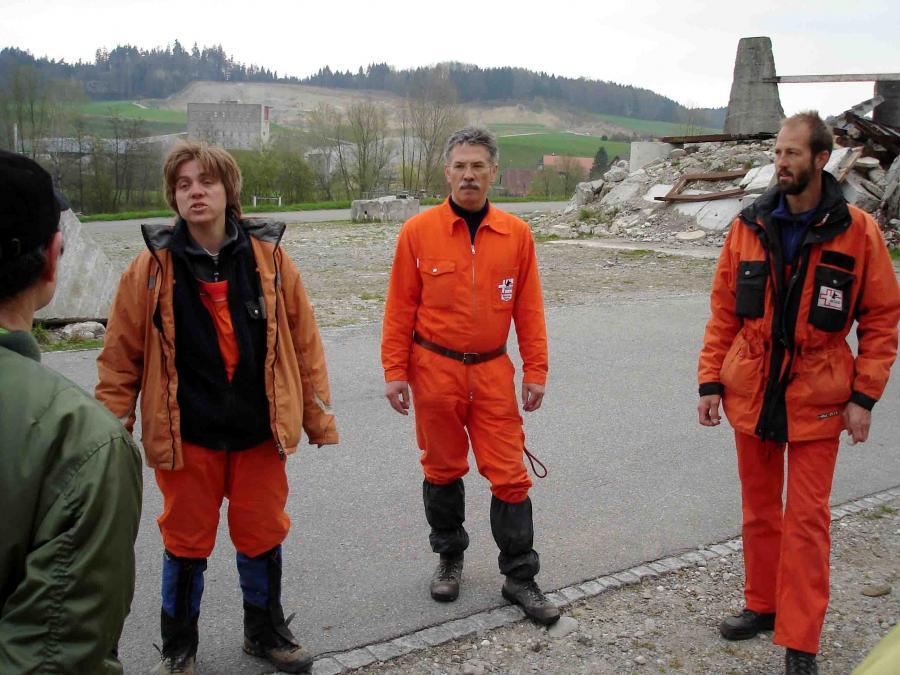 スイス・ベルン郊外の訓練施設(10)