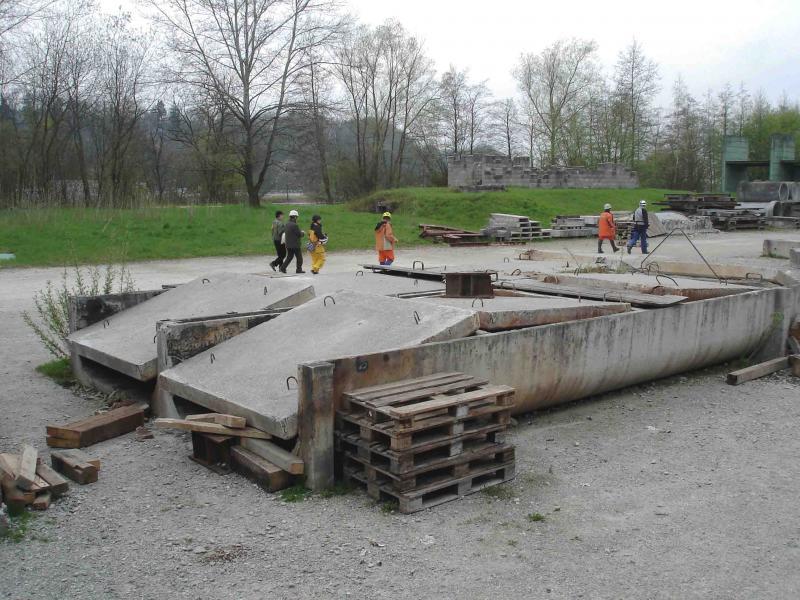 スイス・ベルン郊外の訓練施設(21)