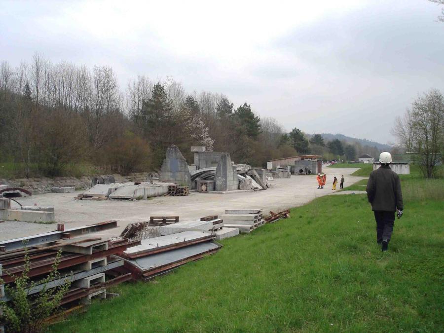 スイス・ベルン郊外の訓練施設(22)