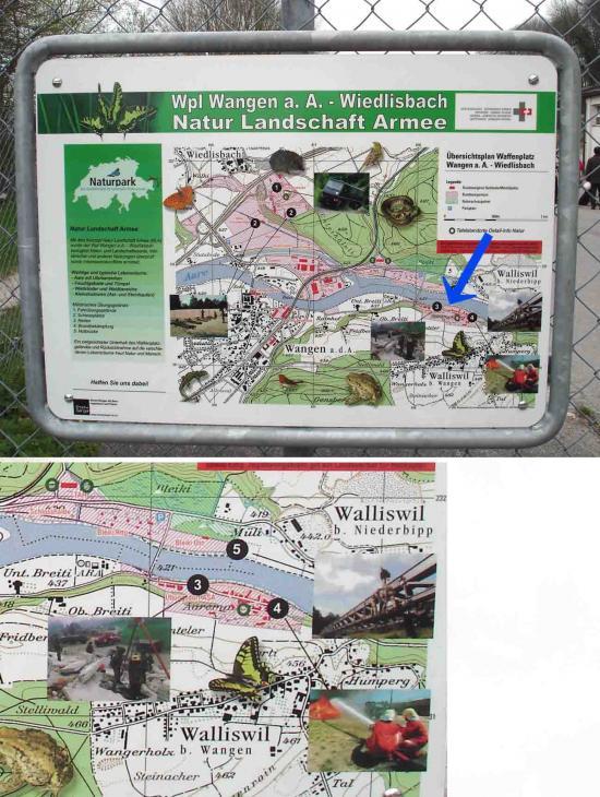 訓練施設案内地図