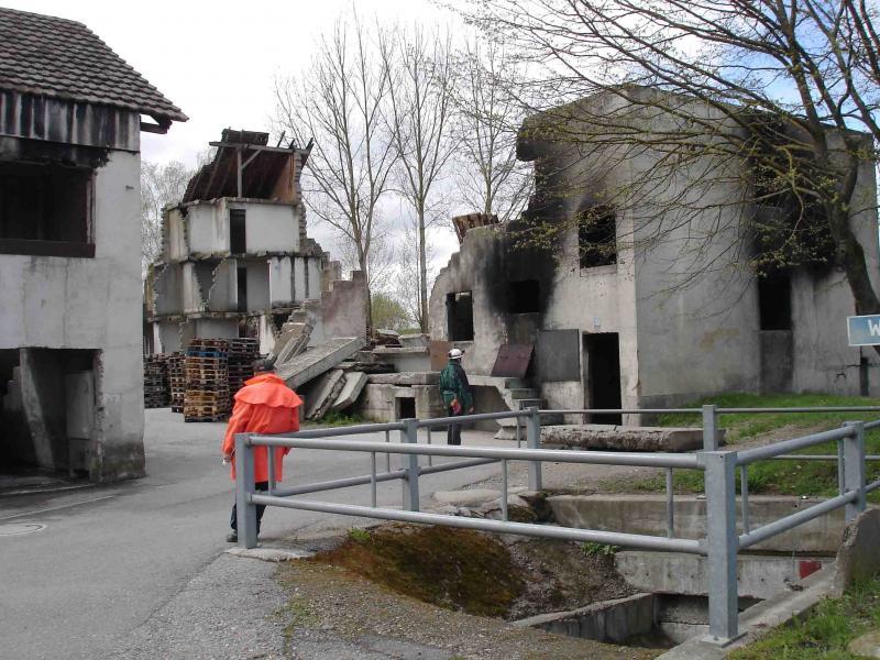 スイス救助犬試験模様(4)