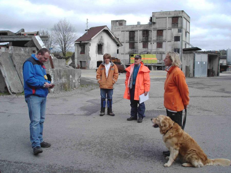 スイス救助犬試験模様(5)