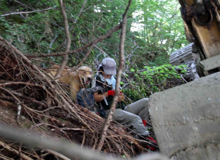 三峰川ですよ 0728(捜索Ⅳ)-11
