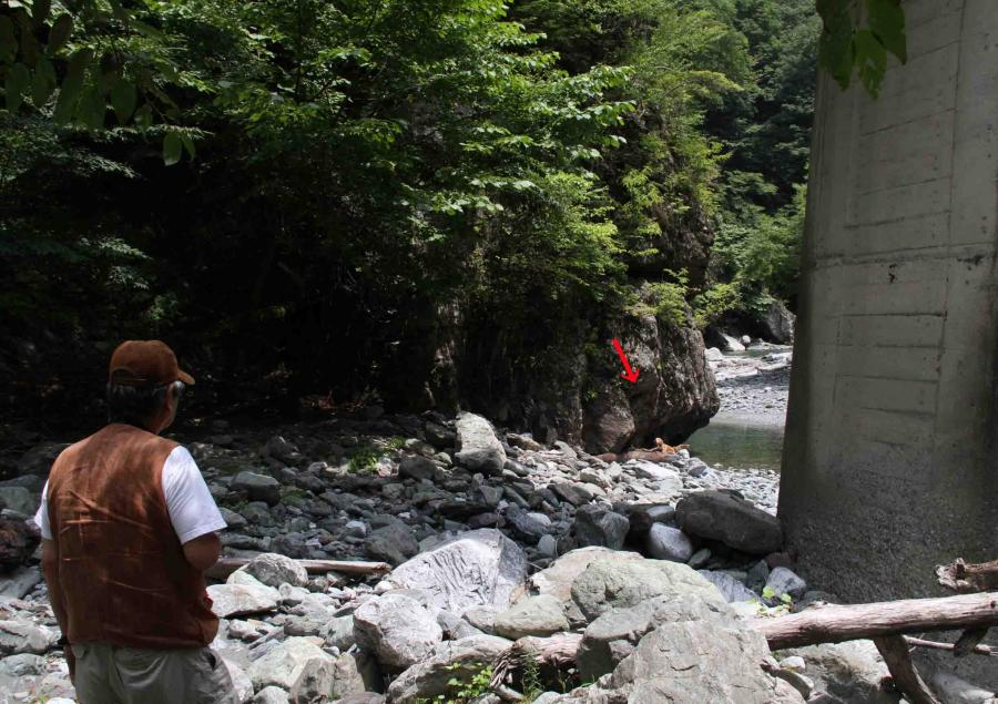 三峰川ですよ 0729 捜索(3)