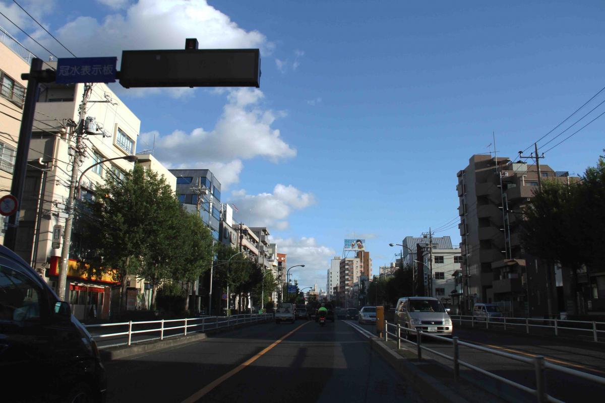 環八雲 20120819(10) 17時19分 井荻トンネル南から青梅街道方面