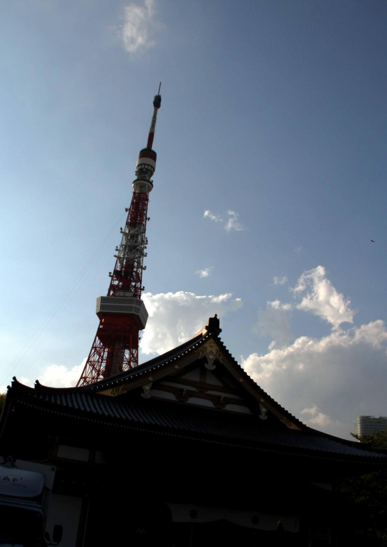 みなとまつり 午後の東京タワー