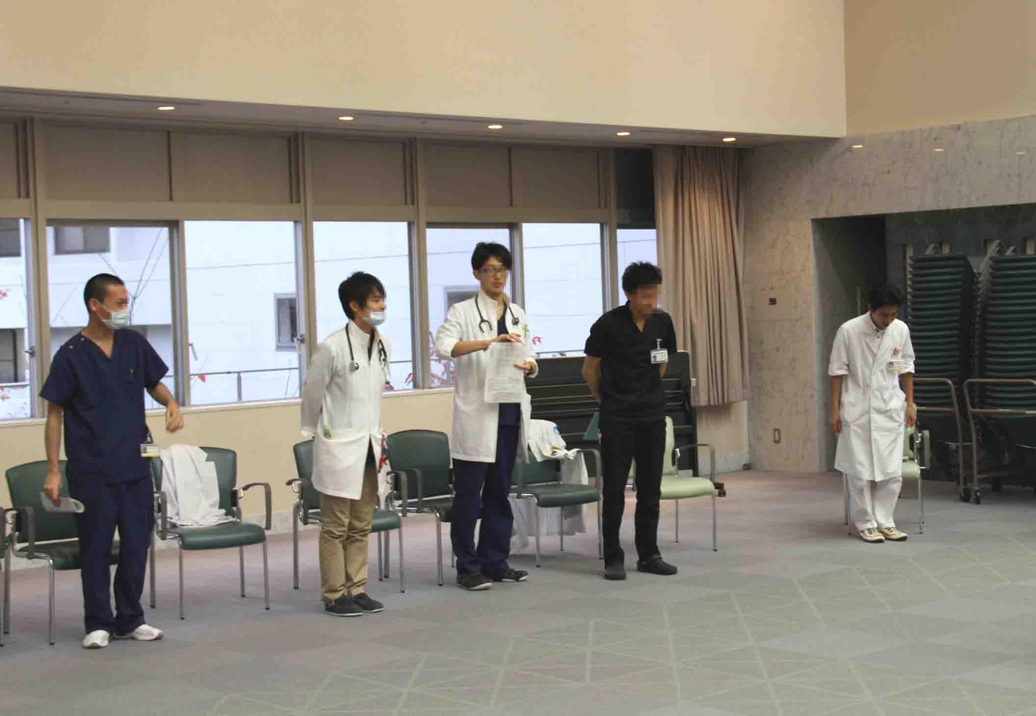 心肺蘇生法講習会(1)
