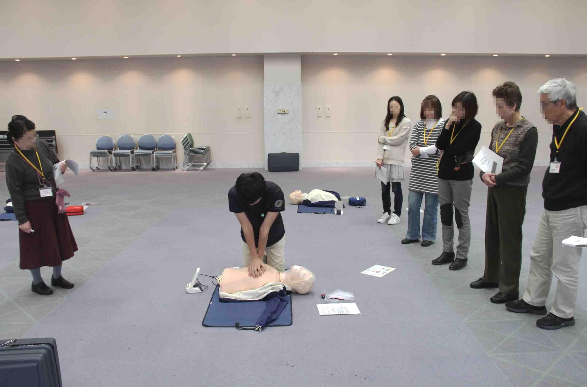 心肺蘇生法講習会(3)