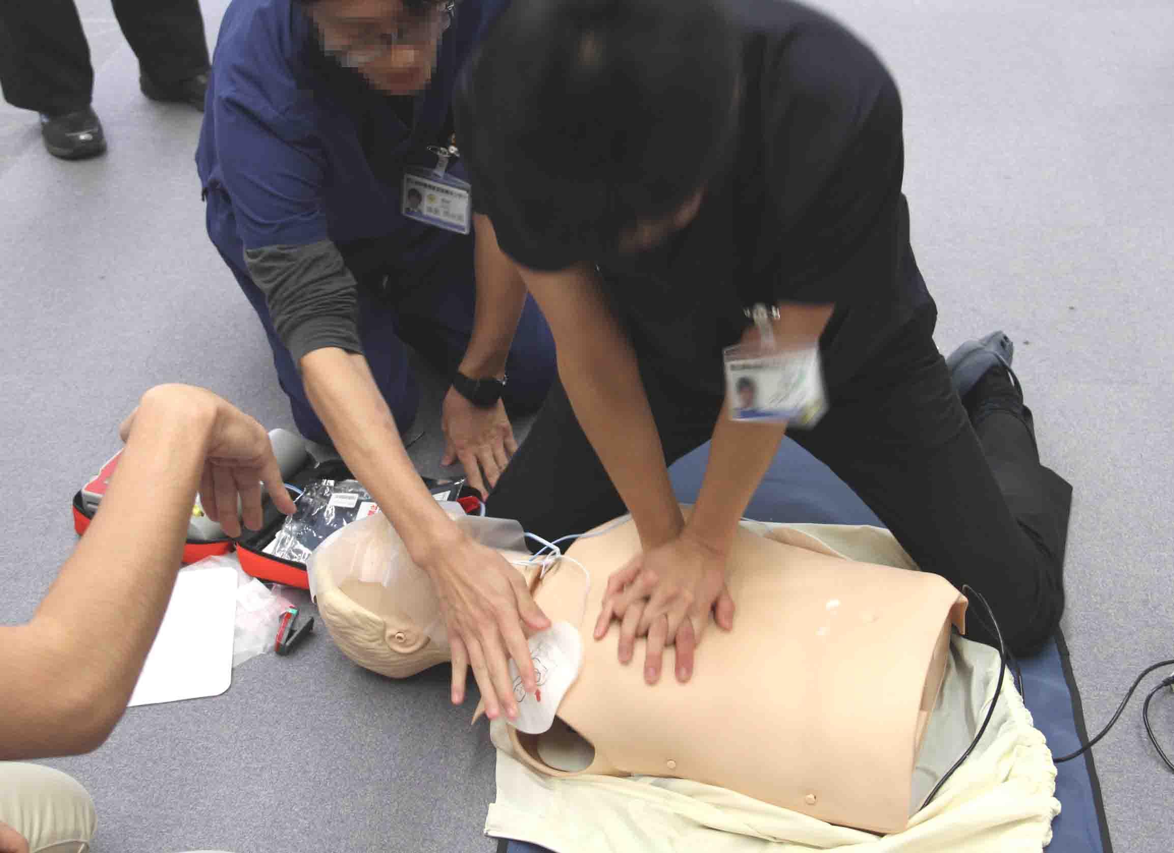 心肺蘇生法講習会(5)