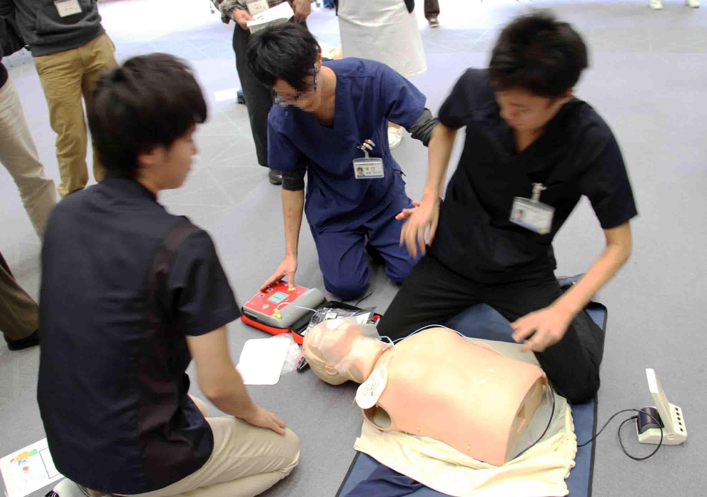 心肺蘇生法講習会(6)