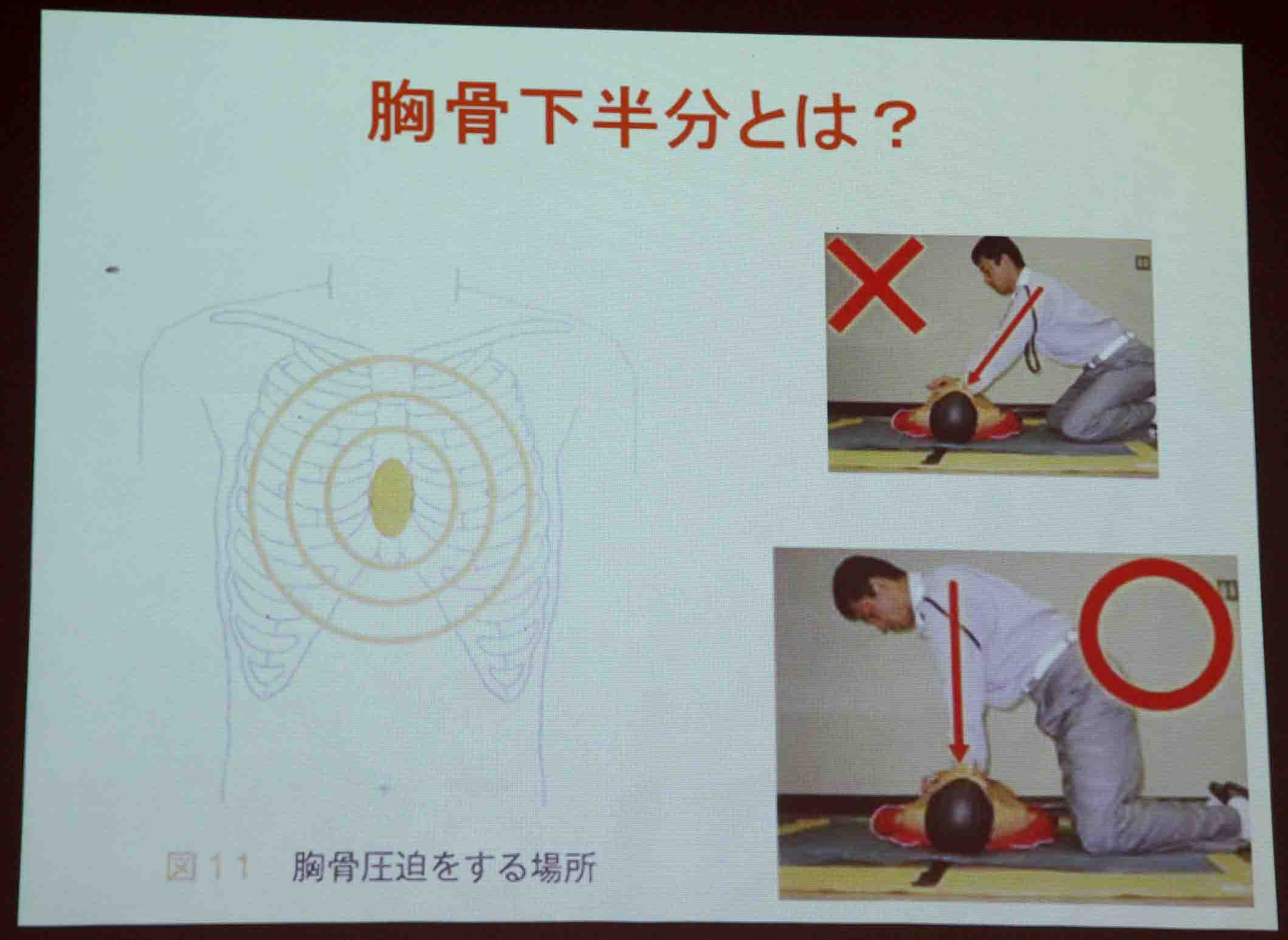 心肺蘇生法講習会(13)