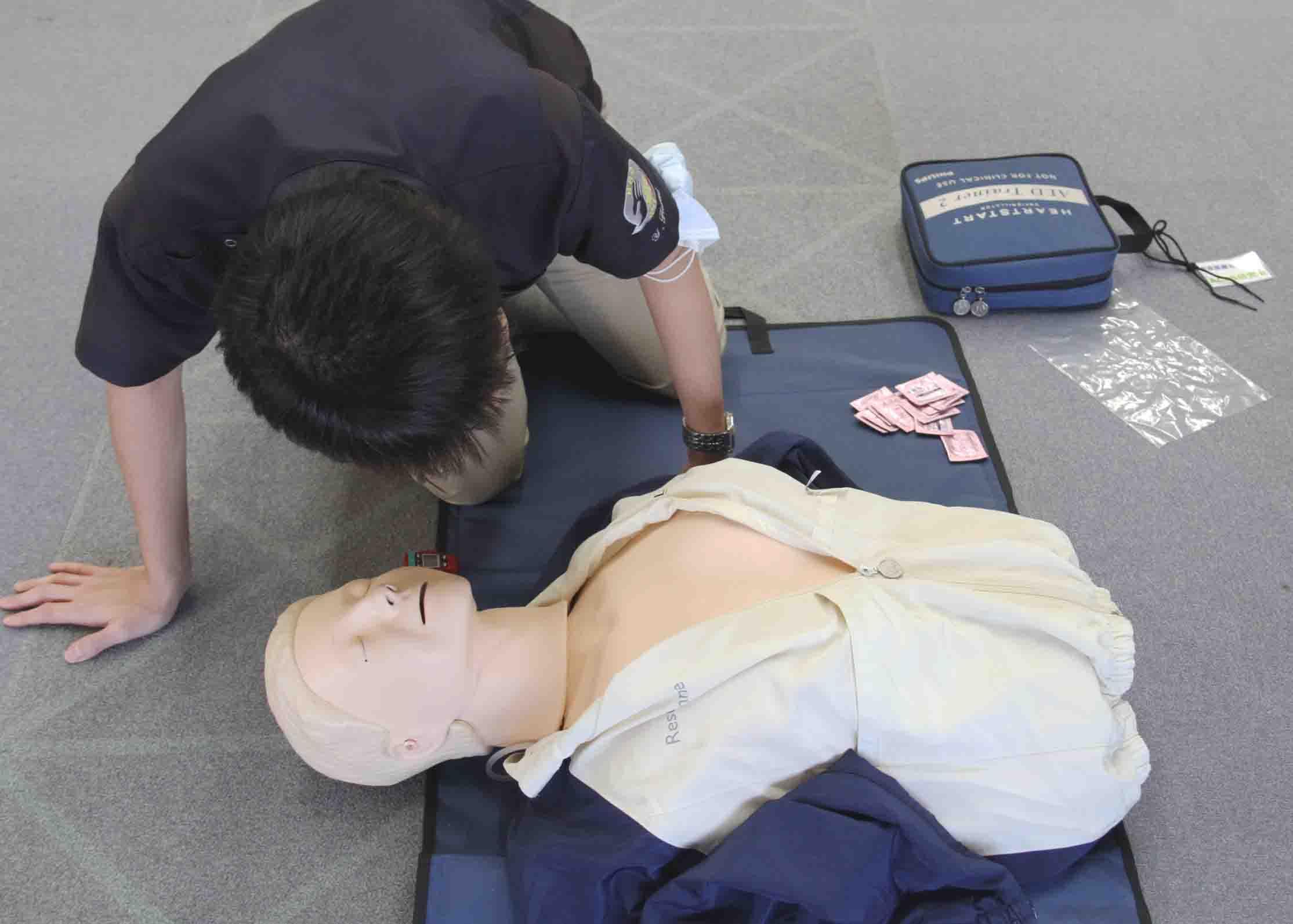 心肺蘇生法講習会(17)