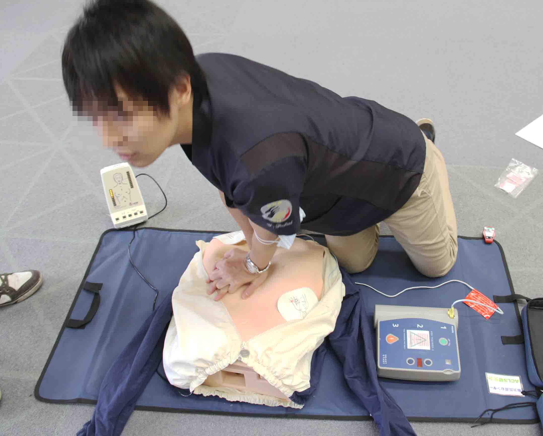心肺蘇生法講習会(19)