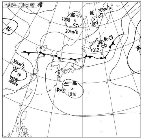 天気図 SPAS_071406