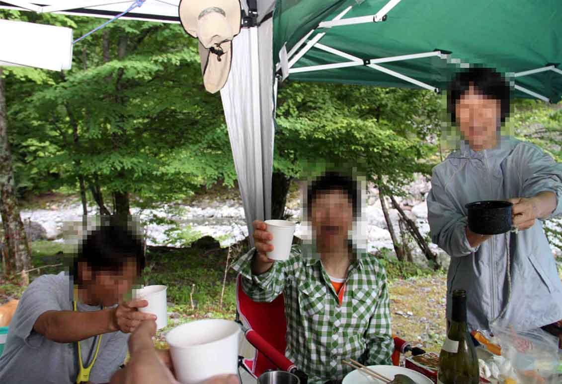 三峰川 7月14日 お疲れ様でした!