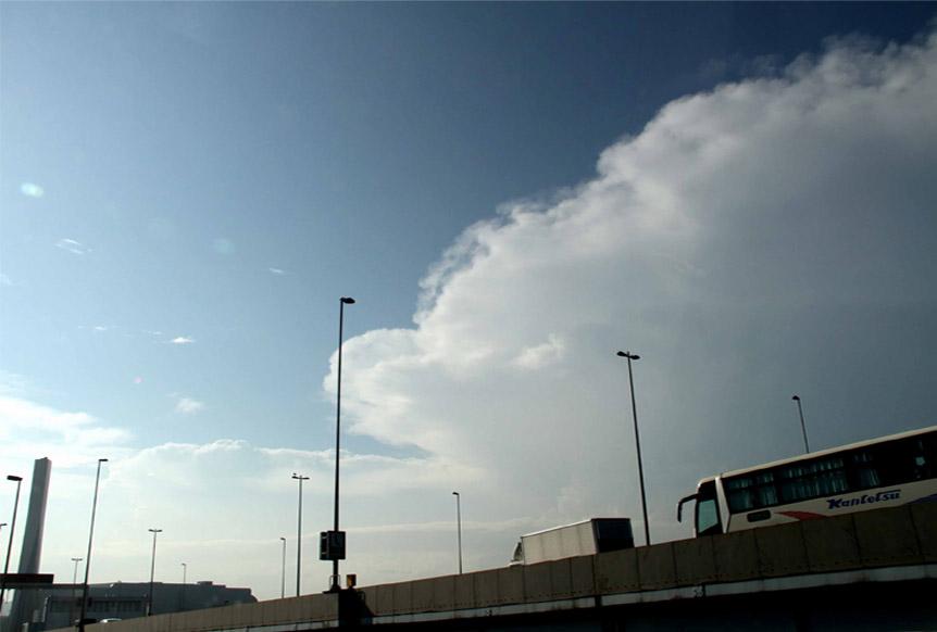 9月1日の関東中部の大雨とカナトコ雲(5)