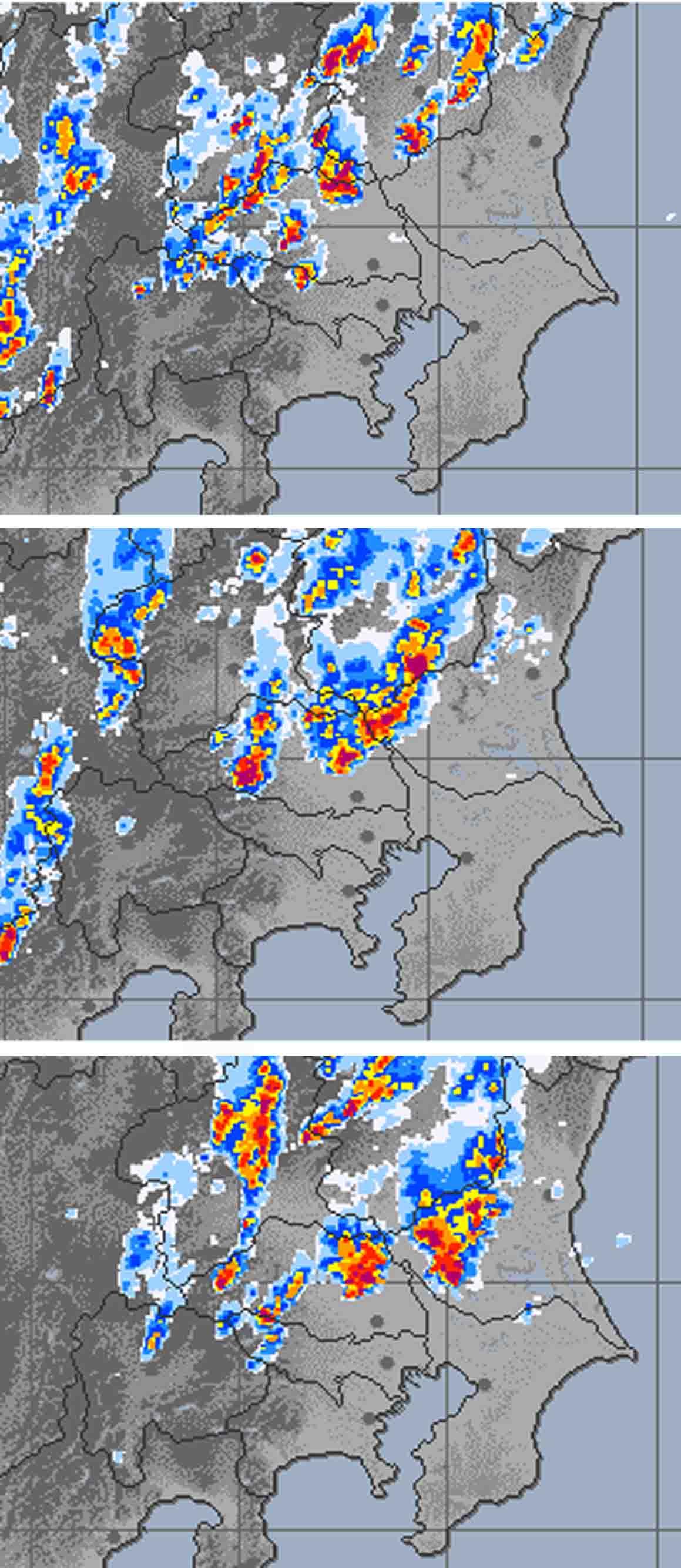 9月1日の関東中部の大雨とカナトコ雲(10)