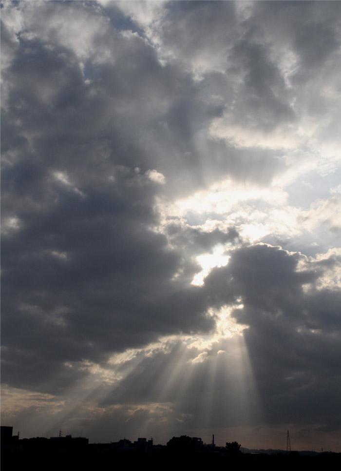 9月24日 天使のはしご(4)