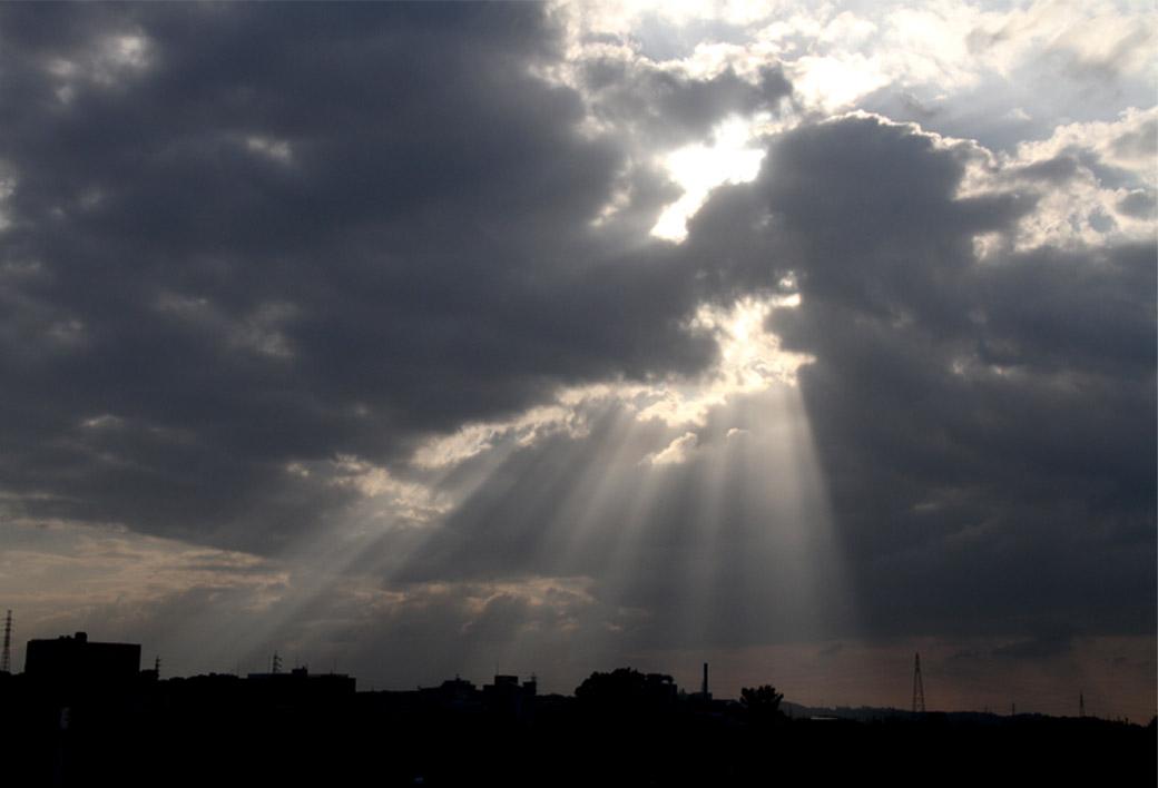 9月24日 天使のはしご(5)