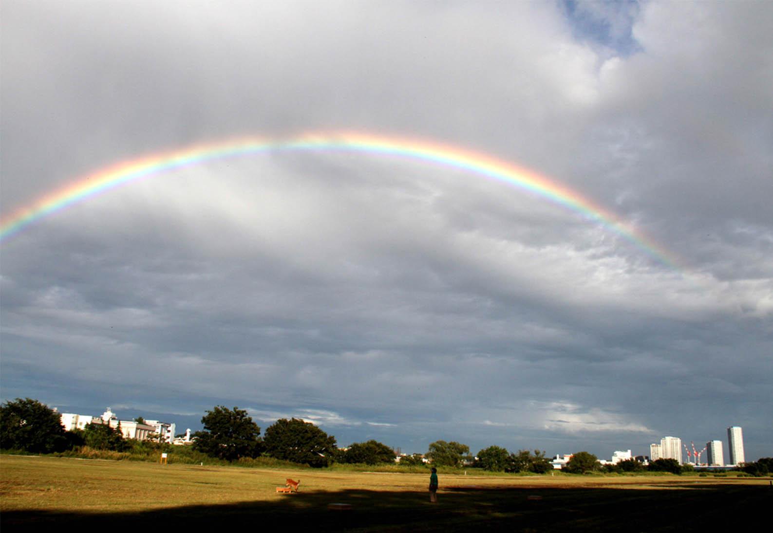 10月2日の虹(2)