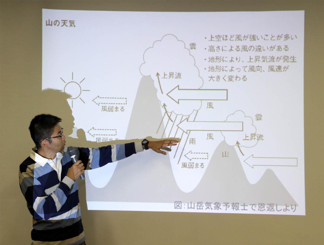 山岳気象セミナー(2)